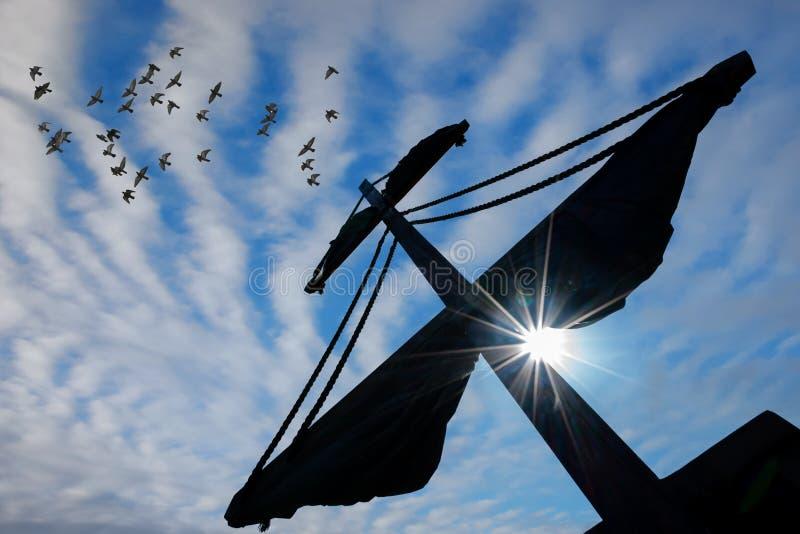 pirata masztowy statek obraz royalty free