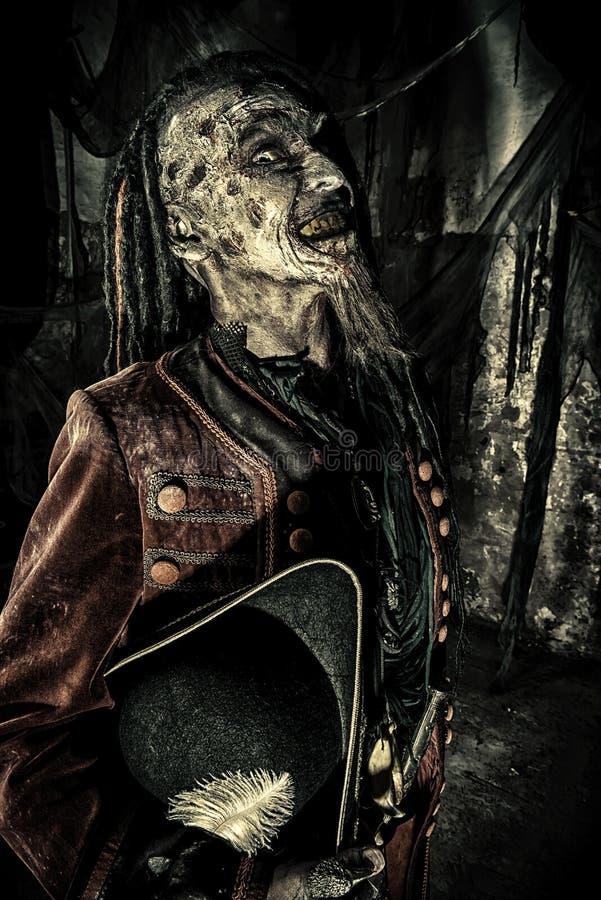 Pirata muerto de Fearfull fotos de archivo
