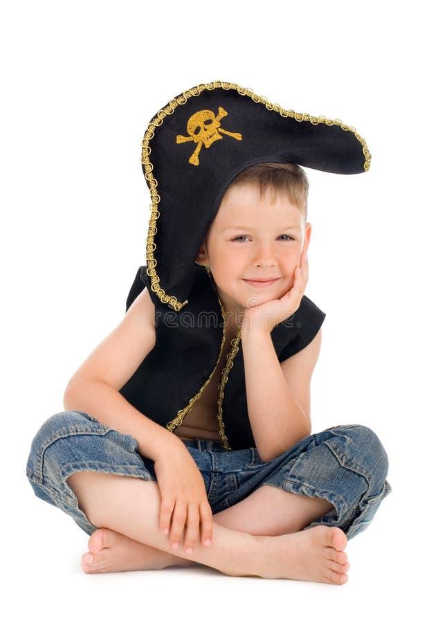 Pirata pequeno fotografia de stock royalty free