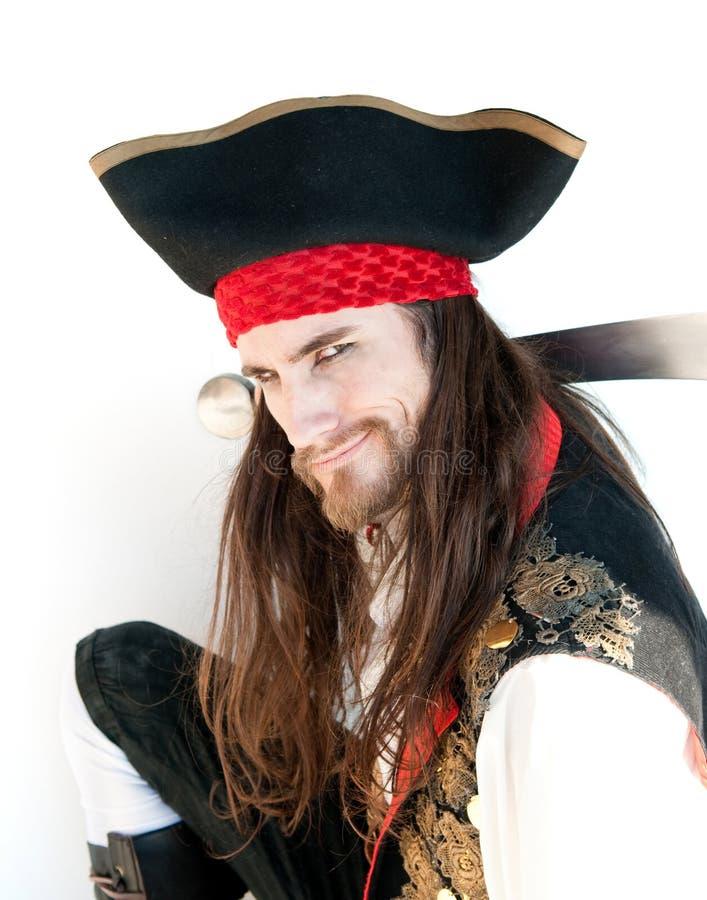 Pirata poderoso fotografía de archivo libre de regalías