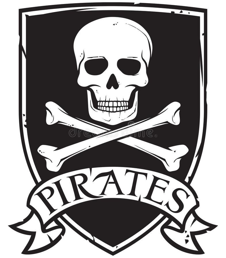 pirata symbol royalty ilustracja