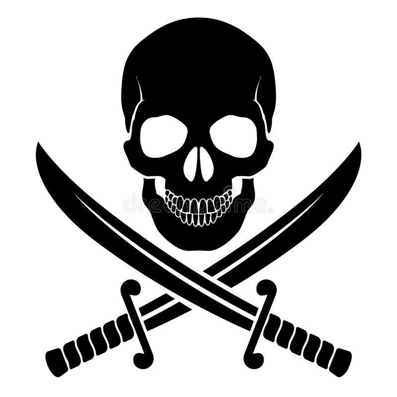 Pirata symbol ilustracji
