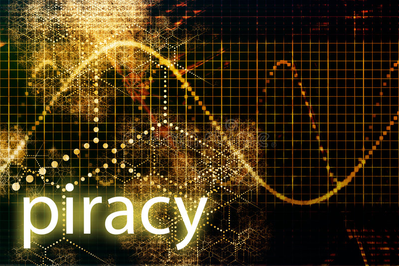 piratage illustration libre de droits