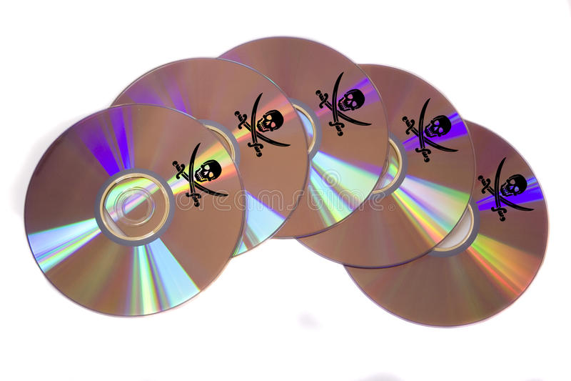 Piratage de logiciel images stock