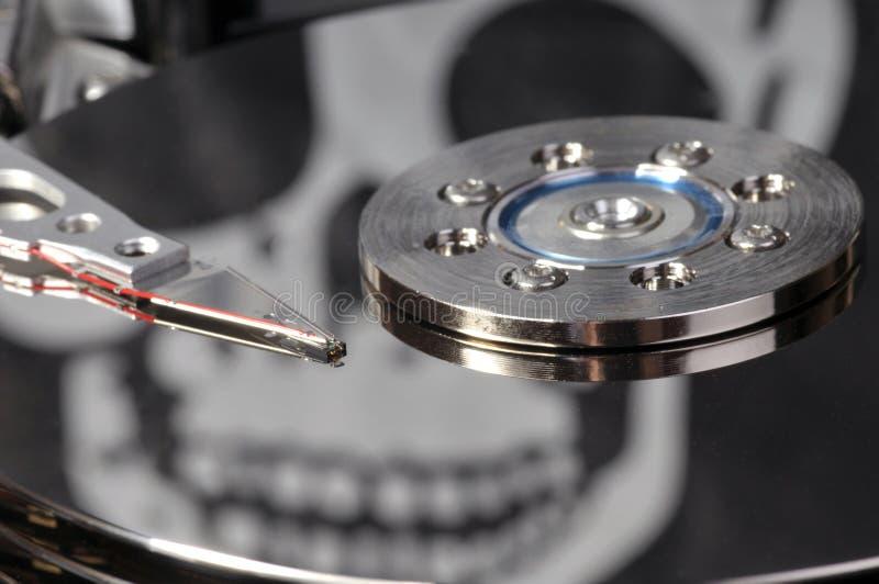 Piratage de logiciel photo stock
