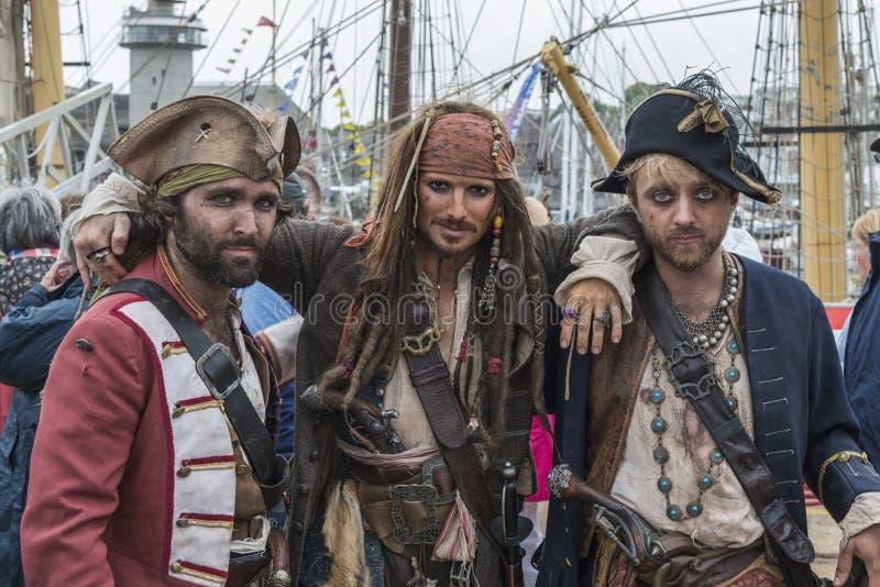 piratas imagens de stock