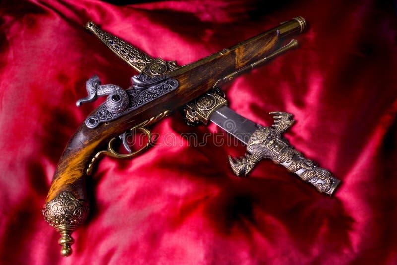 Piratas fotografia de stock