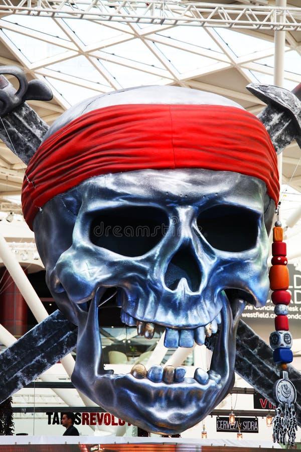 Piratas das Caraíbas: Em marés mais estranhas fotografia de stock royalty free