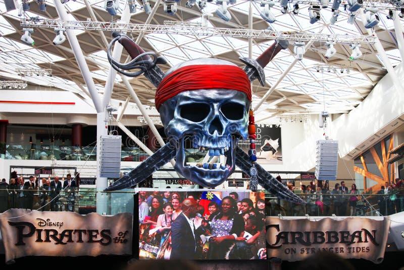 Piratas das Caraíbas: Em marés mais estranhas imagem de stock royalty free