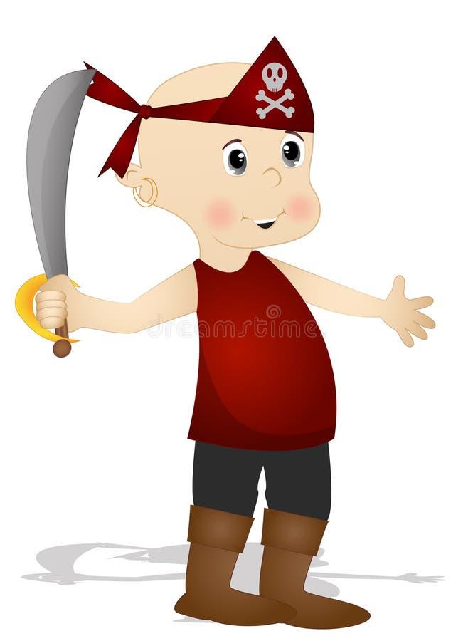 Piratas lindos libre illustration