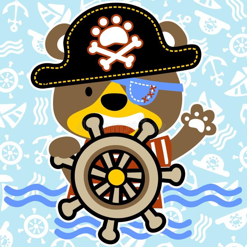pirate illustration libre de droits