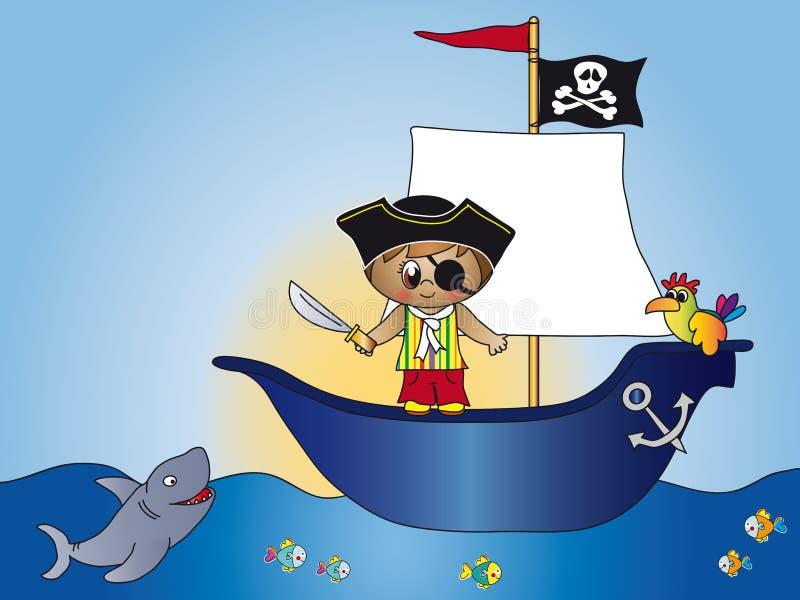 Download Pirate stock illustration. Image of filibuster, design - 15892580