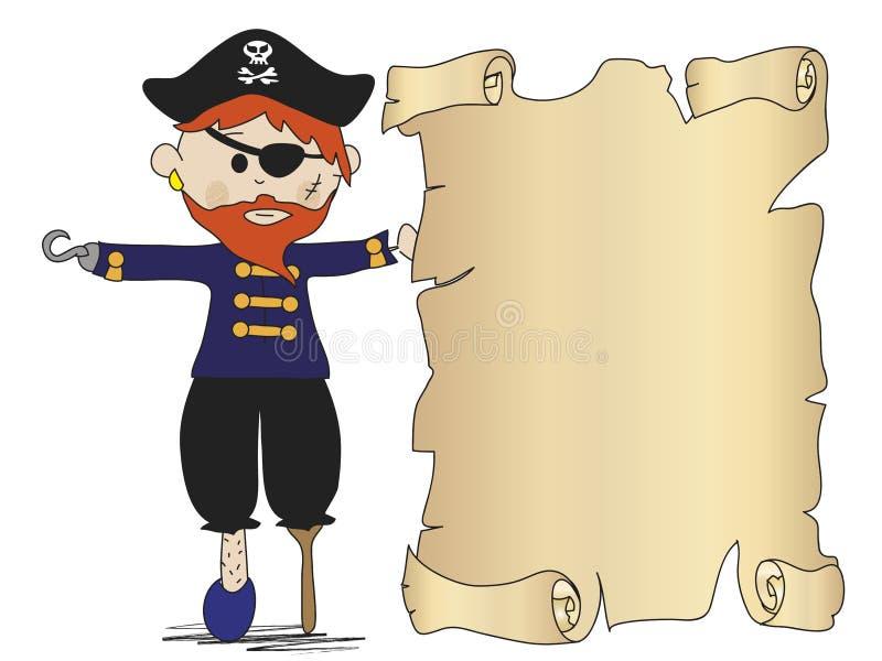 Download Pirate stock illustration. Image of invitation, pirate - 28992212