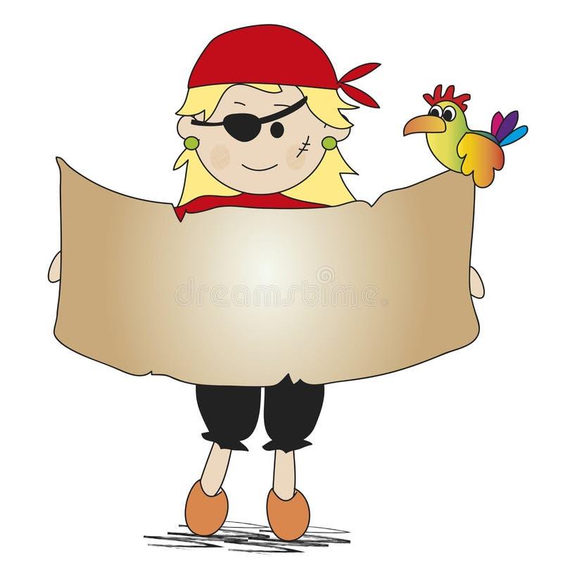 Download Pirate stock illustration. Illustration of treasure, children - 29051453