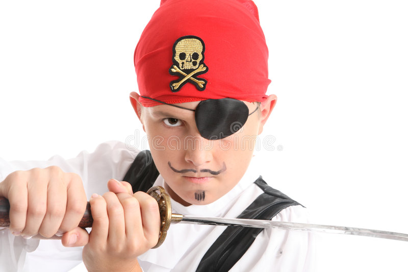 Download Pirate stock photo. Image of sailor, bandanna, costume - 4162638