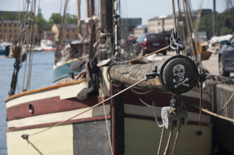 Download The pirate boat stock photo. Image of sharp, sweden, bowsprit - 26597198