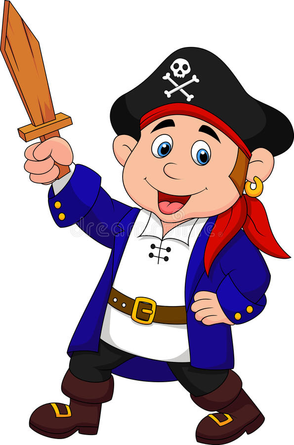 pirate boy cartoon stock vector illustration of carnival 31344907 rh dreamstime com pirate cartoon images with speech player pirate ship cartoon images