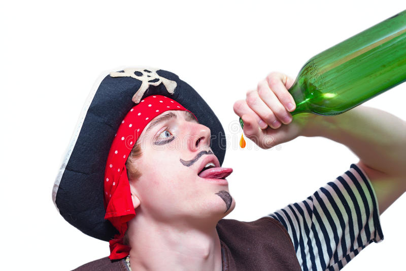 Pirate désespéré photo libre de droits