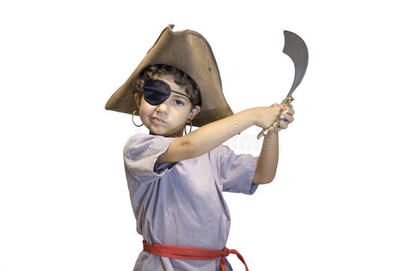 Pirate d'enfant images libres de droits