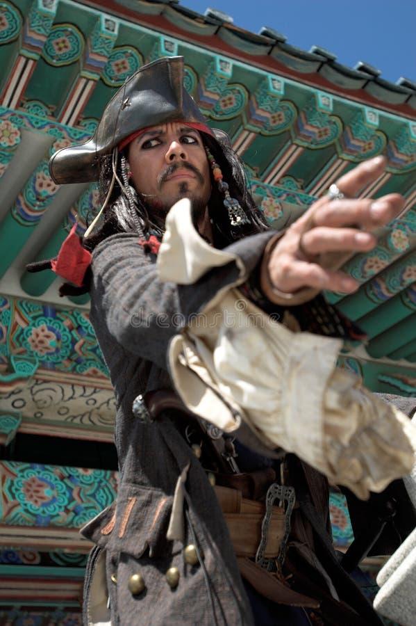 Pirate en Asie images libres de droits