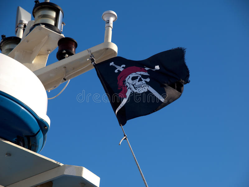 Download Pirate Flag stock photo. Image of yacht, coastal, pirate - 13178468