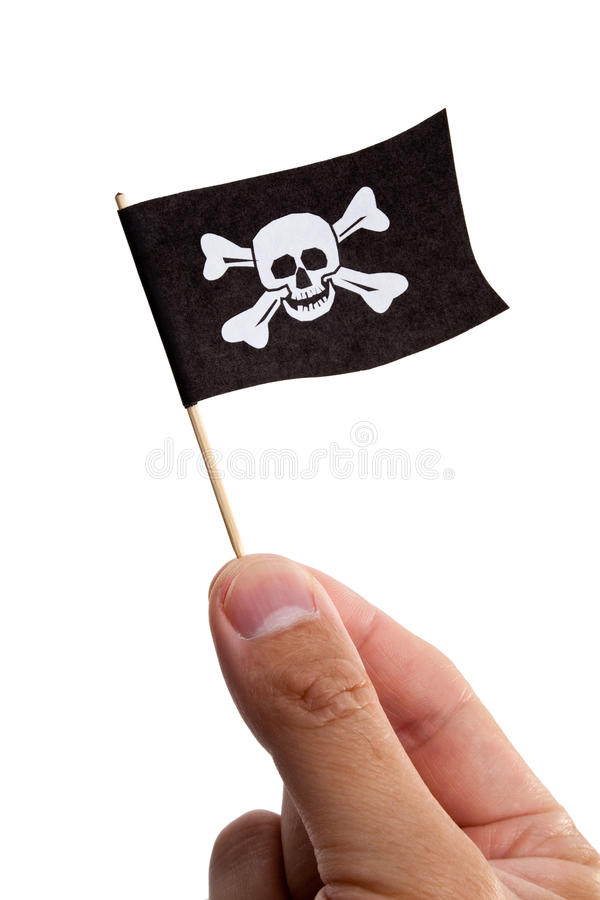 Download Pirate Flag stock image. Image of buccaneer, isolated - 15815589