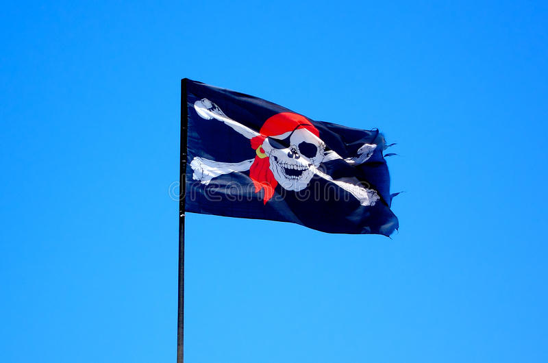 Download Pirate Flag stock image. Image of evil, piracy, jolly - 25198429