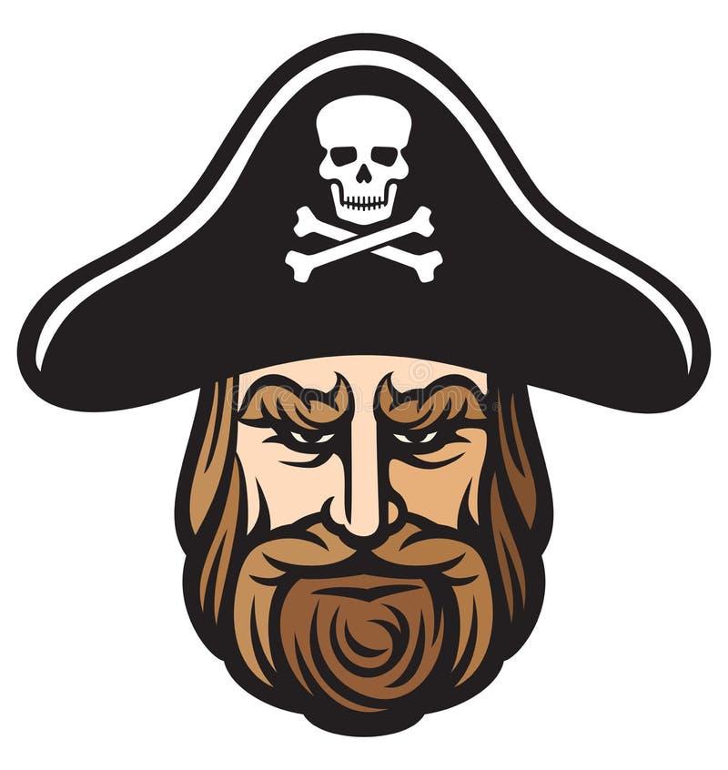 Pirate hat stock illustration