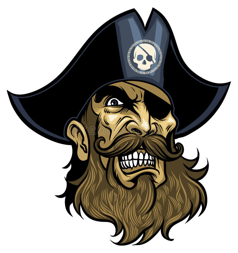 Free Pirate Head Royalty Free Stock Images - 32194739