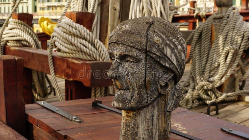 Pirate head royalty free stock photo