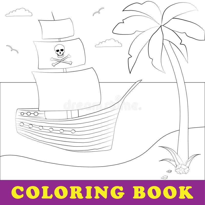 pirate Illustration de vecteur d'enfants illustration stock