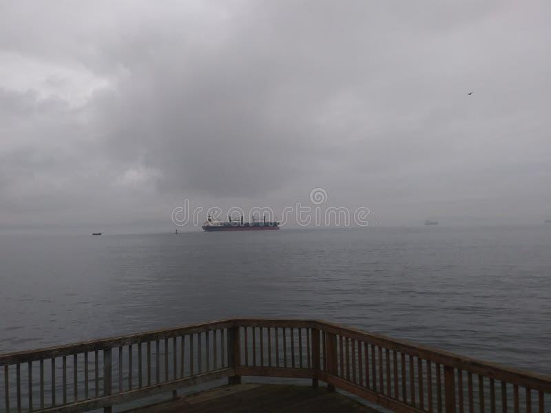 Pirate& x27; s på horisonten arkivbild