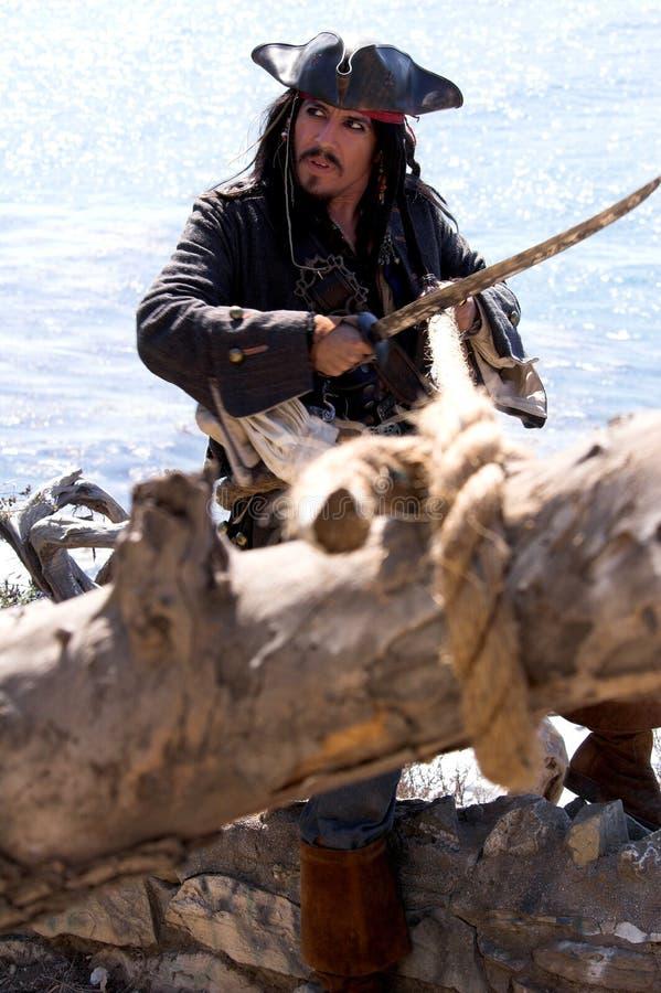 Pirate saisi image libre de droits
