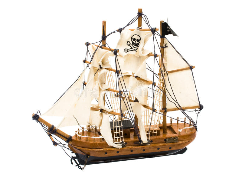 Download Pirate Ship stock image. Image of ship, sail, boat, steal - 15667089
