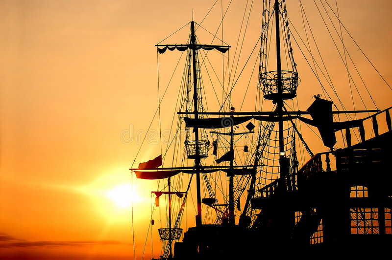 Download Pirate Ship Stock Photography - Image: 2962732