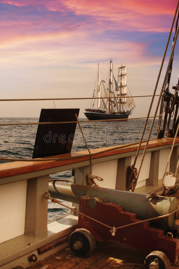 Free Pirate Ship Deck Royalty Free Stock Images - 4245609
