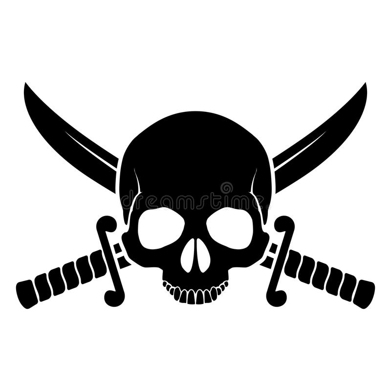 Pirate Symbol Stock Vector Illustration Of Caution Danger 38152437
