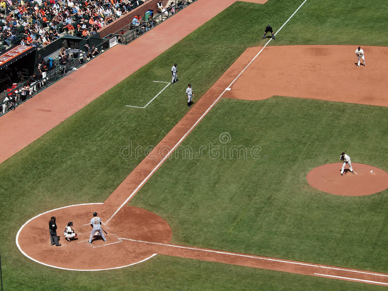 Download Pirate Wait For A Pitch With Runner At 3rd Editorial Image - Image of mitt, jonathan: 13880495