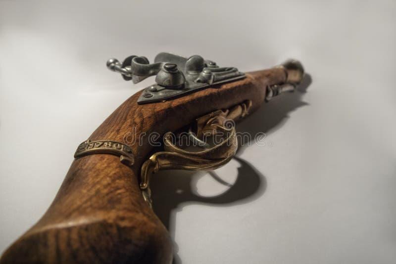 Piratee la pistola imágenes de archivo libres de regalías