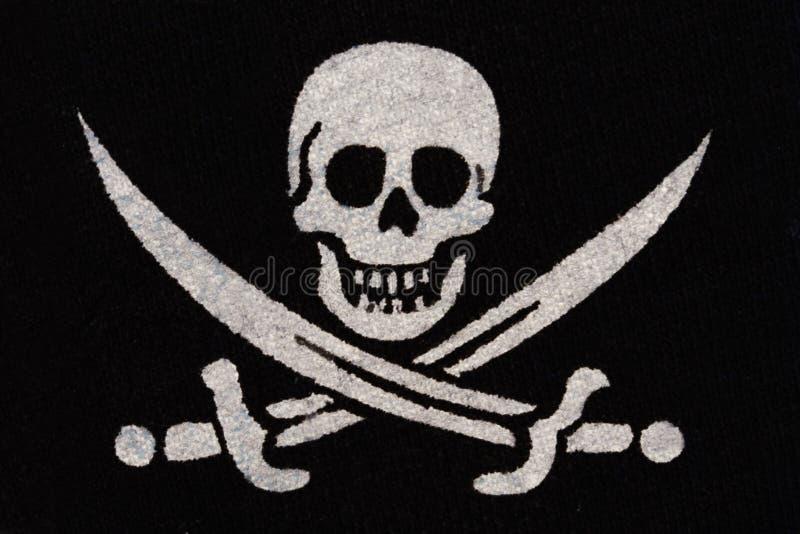 Pirateie O Símbolo Fotos de Stock
