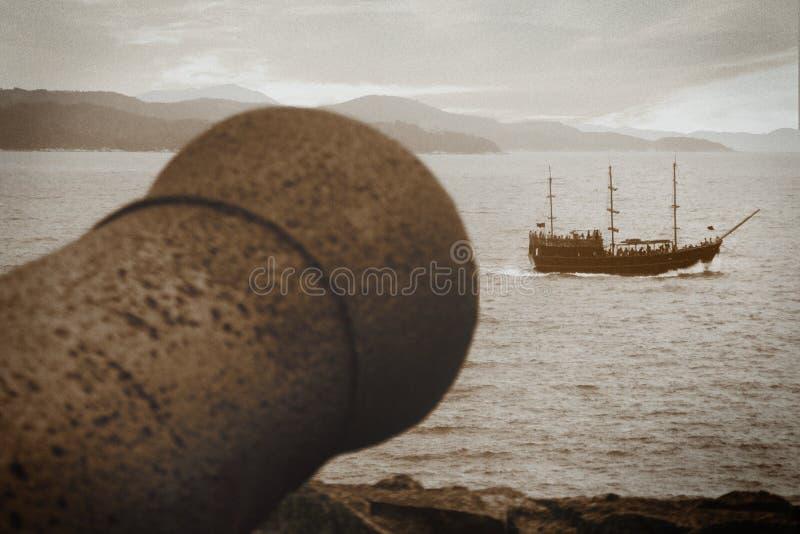 Piraten! stock afbeelding
