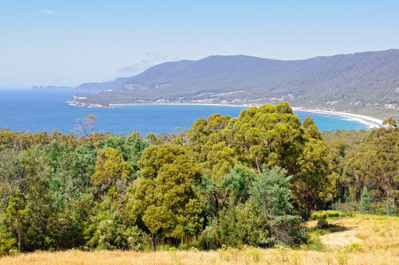 Piraten-Bucht - Tasmanien stockfoto