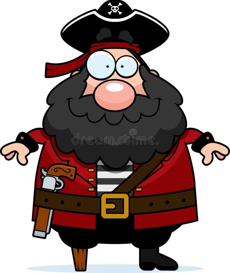Piraten-Lächeln vektor abbildung