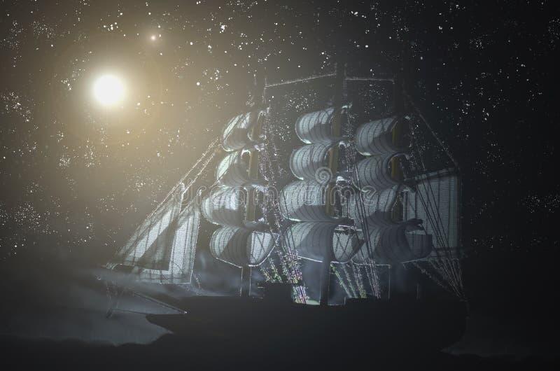 Piratengeisterschiff stockfotografie