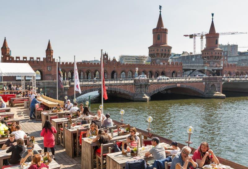 Piratenrestaurant in Berlijn, Duitsland royalty-vrije stock foto's