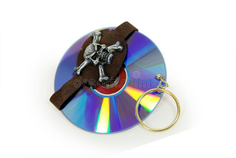 Piratensoftware lizenzfreies stockbild