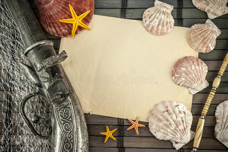 Download Pirates. stock image. Image of copy, objects, seastar - 25419621