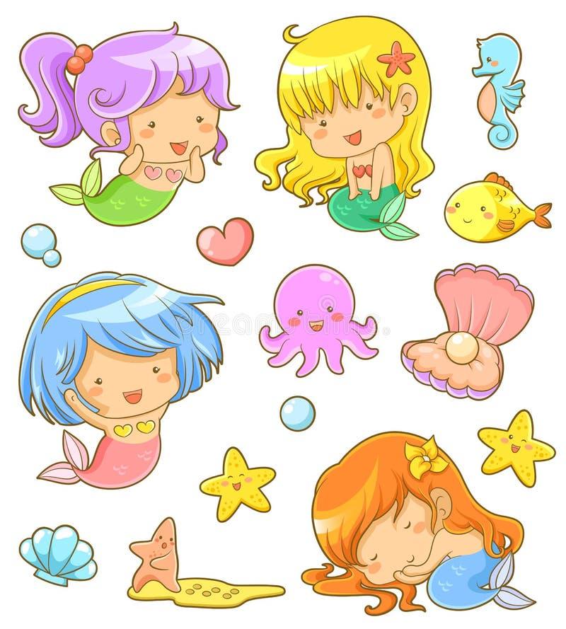 Pirates heureux illustration stock