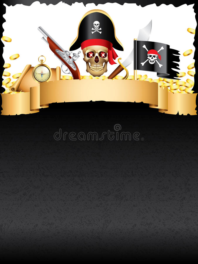 pirates-treasures-vector-background-grunge-vertical-34990474 Old Time Template Letter Pirate on business card, for preschoolers, add features, skull crossbones, if we're, ship craft, kids menu,