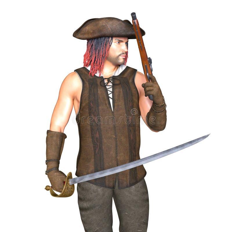 pirati illustrazione vettoriale